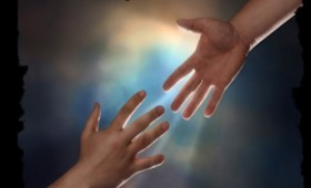 heavenly hand reaching