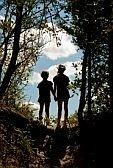 kids holding hands